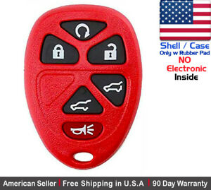 1x New Replacement Keyless Remote Key Fob For Gmc Chevy Cadillac Shell Only