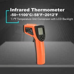 Dt8011h Digital Handheld Lcd Infrared Thermometer Temperature Gun Non Contact 1z