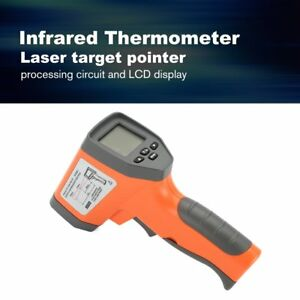 Dt750 Laser Lcd Digital Ir Infrared Thermometer Temperature Gun Thermometer 2c