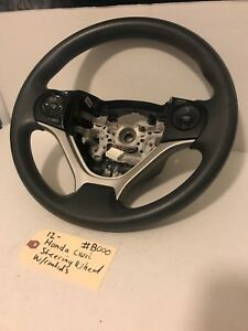 2012 12 Honda Civic Driver Steering Wheel W Audio Cruise Control Oem b0000