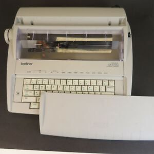 Brother Gx 6750 Correctronic Wheel Electric Typewriter In Working Condition