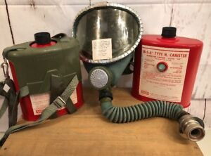 Msa Gas Mask Type N Model Sw Window cator Canister