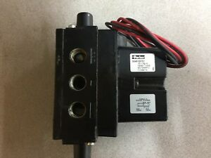New No Box Parker 120vac Pneumatic Solenoid Valve Ss40103701