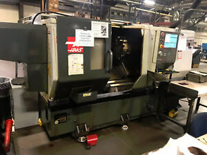 Haas St 35 Cnc Lathe 4 Bore Purchased New 2014