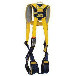 Dbi sala Delta Safety 1100883 Comfort Vest Style Climbing Harness Fall Arrest L