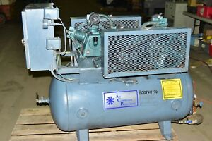 Air Compressor Products Inc 60gal Twin Two Stage Fs Curtis E 23 Air Compressor