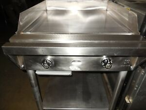 Used Jade Range 24 Thermostat Griddle Nat Gas W Stand And Casters