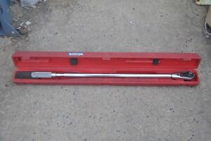 Snap On Qd4r600 Ratcheting 120 600 Ft Lb Torque Wrench 3 4 W L872 Head