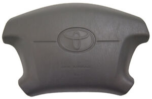 1997 2001 Toyota Camry Steering Wheel Center Cover Grey New Oem