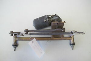 Porsche 914 Oem Windshield Wiper Linkage With Motor 8