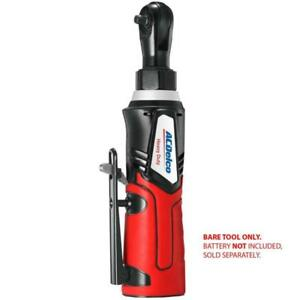 Acdelco Cordless 1 4 Ratchet Wrench 30 Ft lbs 240 Rpm Tool Only arw1207t