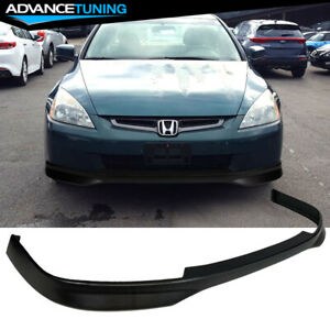 Fits 03 05 Honda Accord 4dr Sedan Type R Front Bumper Lip Pp