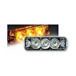 Tomar Rect 13 Mini Led Warning Light Amber Rect 13ls a