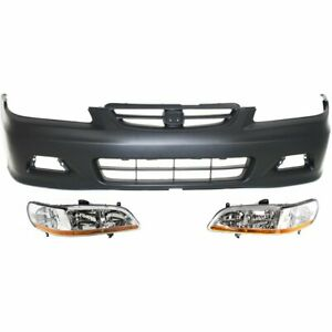 New Auto Body Repair Kit Front For Honda Accord 2001 2002
