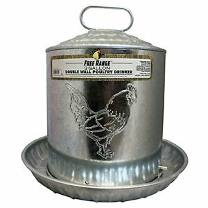 Harris Farms Double Wall Poultry Drinker 5 Gallon