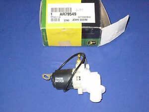 Ar79549 Windshield Washer Pump Genuine John Deere 9400 9600 Combine 9650 9410