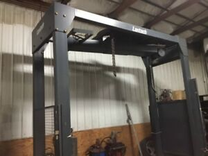 2 Industrial Lantech Stretch Wrapper Machines
