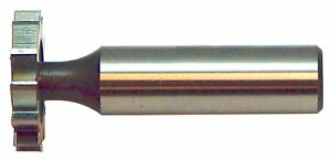 Keo 94073 Carbide tipped Woodruff Keyseat Cutter Uncoated bright Finish R