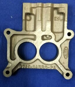 Nos Ford Carb Spacer D7pe 9a589 pa Oem Motorcraft Part