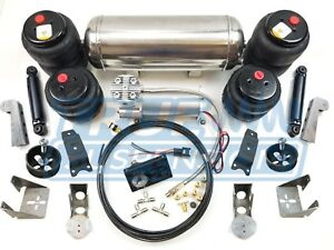 Mustang Ii Classic Car Pickup Complete Universal Air Ride Suspension Kit