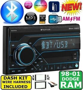 98 99 00 01 Dodge Ram Am Fm Bluetooth Aux Usb Sd Eq Car Radio Stereo Pkg