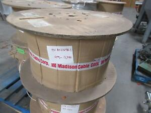 Madison Cable E111018 Communication Cable 4 C 28 Awg 300 V 13 340 Ft T83430