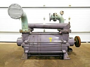 Mo 2705 Busch Liquid Ring Gas High Vacuum Pump Lb 3008 2 Stage