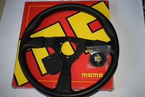 Momo Monte Carlo 350mm Steering Wheel With Horn Button