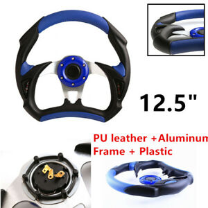 Universal Auto Racing Magical Car Steering Wheel Stitching Sport Pu Leather Trim