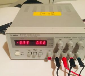 Agilent E3630a Triple Output Lab Dc Power Supply Powers On As is