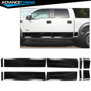 Fits 09 14 Ford F150 Raptor Side Body Molding Cladding Panel Abs 10pcs