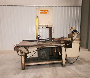 12199 Marvel Series 8 Mark I Vertical Tilt Frame Band Saw 18 X 20