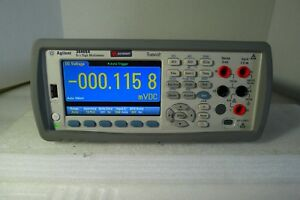 Agilent Keysight 34460a 6 1 2 Digit Truevolt Bench Dmm Digital Multimeter