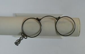Vintage Sterling Silver Magnifying Folding Glasses