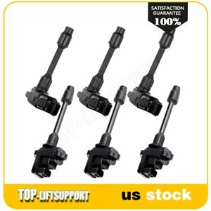 New Ignition Coil Kit Fit 1996 1997 1998 1999 Nissan Maxima Pack Of 6
