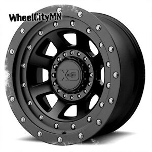 20 X12 Satin Black Xd137 Fmj Kmc Wheels Fits Ford F250 F250 Excursion 8x170 44