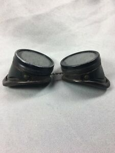 Vintage Green Lenses Welding Glasses Motorcycle Goggles Steampunk Jewelers