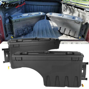 Fits 07 19 Toyota Tundra Abs Truck Bed Storage Box Toolbox Left Right