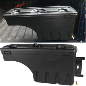 Fits 15 19 Ford F150 Abs Truck Bed Storage Box Toolboxes Passenger Side
