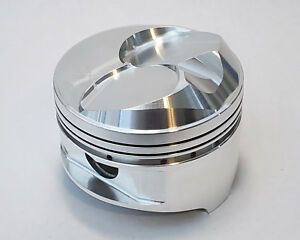 Arias Pistons Chevy Big Block 4 500 Bore 3 760 Stroke Blower Nitrous Dome 10 New