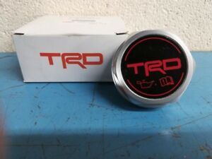 Genuine Toyota Trd Oil Filler Cap Ptr35 00110