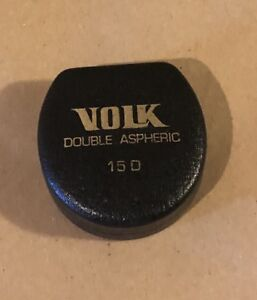 Volk 15d Lens Double Aspheric Perfect Lens Condition Made In Usa