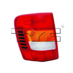 Tail Light Assembly Lh Drive Fits 99 02 Jeep Grand Cherokee 11 5276 00 1 Tyc