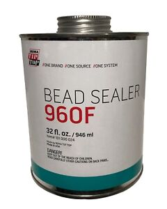 Rema Tip Top 960f Tire Bead Sealer Rim Sealer 32 Fl Oz Can Brush Top Can