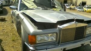 1999 Rolls Royce Silver Spur Grille Whole Car For Parts