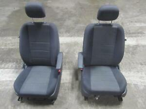 08 10 Dodge Caravan Town Country Front Seat Bucket Cloth Dark Grey Gray Cushion