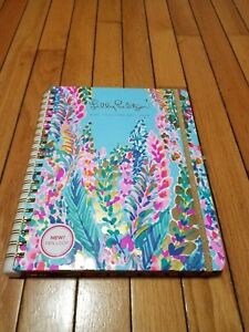 Lilly Pulitzer Jumbo 17 Month Hardcover Agenda Personal Planner 2018 2019