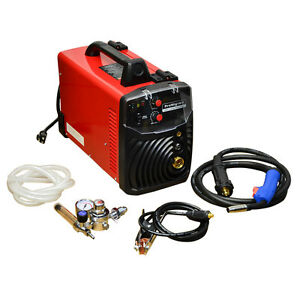 30 140 Amp Inverter Igbt Mig Wire Feed Gas No Gas Welder Welding 120 V