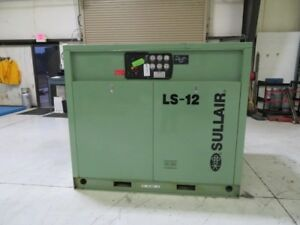 Sullair Ls12 50l a sul Used Compressor 50hp 460v Zag 8448