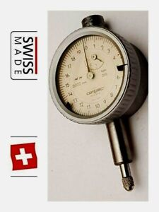 Brown Sharpe Tesa Dial Test Indicator 0 002mm Compac Geneve Swiss Serial 355